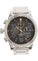 Nixon Chronograph Watch