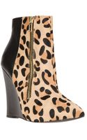 Steve Madden Daring Wedge Boot - Lyst