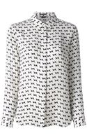 Theory Printed Shirt - Lyst