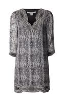 Diane Von Furstenberg Lexie Tunic Dress - Lyst