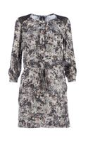 Edun Blotchy Print Shift Dress - Lyst