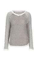 Stefanel Rush Stitch Raglan Sweater
