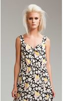 Temperley London Long Louis Print Dress