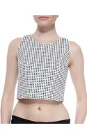 Joie Rosita Cropped Sleeveless Blouse - Lyst