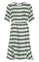 Marni Printed Sateentwill Dress - Lyst