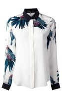 Barbara Bui Printed Shirt - Lyst