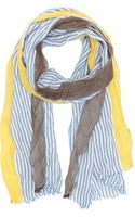 Barneys New York Stripe Scarf - Lyst