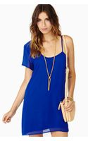 Nasty Gal Cool Midnight Dress - Lyst