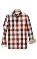 Banana Republic Heritage Bold Tartan Button Down Shirt