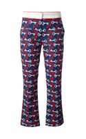 See By Chloé Key Print Trouser - Lyst
