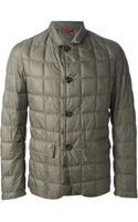 Fay Quilted Padded Jacket - Lyst