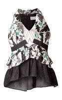 Peter Pilotto Amanda Ruffled Top - Lyst