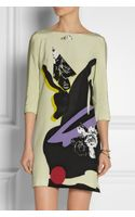 Prabal Gurung Floralprint Silk Crepe De Chine Dress - Lyst