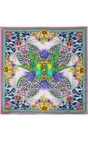 Matthew Williamson Blossom DNA Printed Silk Scarf - Lyst