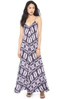 Twelfth Street by Cynthia Vincent Braided Strap Maxi Dress - Lyst