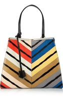 Fendi 3jours Medium Printed Watersnake Tote