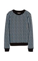 Opening Ceremony Calyx Long Sleeve Sweatshirt - Lyst