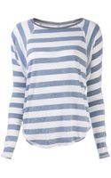 Nsf Clothing Loretta Stripe T-shirt - Lyst