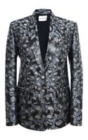 Mary Katrantzou Cookiecutter Single Breasted Blazer