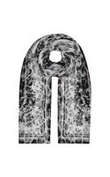 Roberto Cavalli Animal Lace Silk Scarf - Lyst