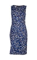 Oscar de la Renta Jewel Neck Dress - Lyst