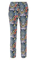 Marc By Marc Jacobs Maddy Printed Silk Tapered Pants - Lyst