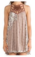 Free People Eyelet Meadow Tunic - Lyst