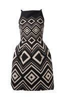 Martin Grant Geometrical Jacquard Dress - Lyst