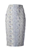 Ermanno Scervino Floral Lace Pencil Skirt - Lyst