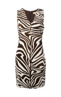 Michael by Michael Kors Zebra Dress - Lyst