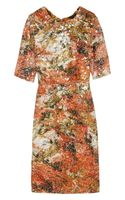 Erdem Ivy Printed Crepe and Sequined Crocheted Lace Dress - Lyst