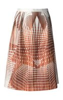 Clover Canyon Geometric Print Skirt - Lyst