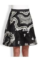 3.1 Phillip Lim Geode Metallic Embroidered Skirt - Lyst