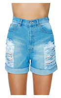 Nasty Gal Take It Easy Boyfriend Shorts
