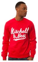 Mitchell & Ness The Branded Men Margin Of Victory Sweatshirt