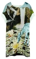 Emma Cook Printed Silk Crepe De Chine Tunic