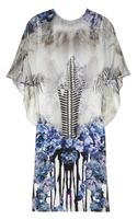 Prabal Gurung Printed Silk Crepe De Chine Dress - Lyst