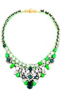 Shourouk Theresa Crystal Embellished Necklace - Lyst