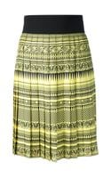 Fausto Puglisi Greek Theme Pleated Skirt - Lyst