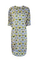 10 Crosby Derek Lam Abstract Print Dress - Lyst