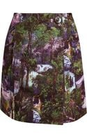 Carven Jungle Skirt - Lyst