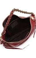 Marc Jacobs Laces Nomad Hobo Bag Wine