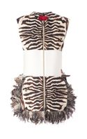 Moncler Gamme Rouge Zebra Print Dress - Lyst