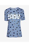 Sonia By Sonia Rykiel Striped Sonia Heart Tee