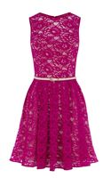 Oasis Lorna Lace Skater Dress - Lyst