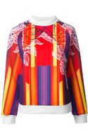 Peter Pilotto Printed Sweatshirt - Lyst
