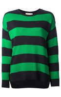 Michael by Michael Kors Striped Sweater