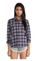 Capulet Plaid Shirt - Lyst