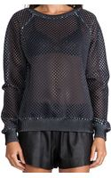 Clover Canyon Grid Neoprene Top - Lyst