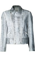 3.1 Phillip Lim Cropped Moto Jacket - Lyst